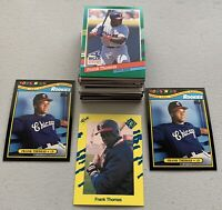 50 cards  Frank Thomas   HOF  *ROOKIE cards *Early Years + **FREE SHIPPING**