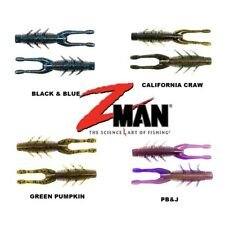 "Z-MAN 6pcs TRD HOG 3"" Soft Plastic Bait Lure Jig Heads Fishing Ned Rig Zman"