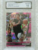 2020 Panini LaMelo Ball PINK ICE Prizm Rookie #3 GMA GEM MINT 10 Hornets RC