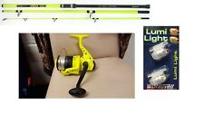 Grauvell  14ft BeachCaster Rod Sea Beach Surf Fishing + Reel + Tip Lights