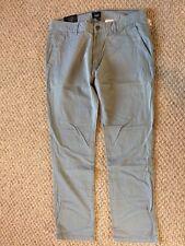 New w/Tags*GAP Men's Khaki Pants/Bottoms*Light Blue Gray*Lived In*34x32