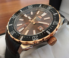 NEW MODELL!!! XXL ORIENT FAC09002T0 Herren Automatic Watch Automatik Taucher Uhr