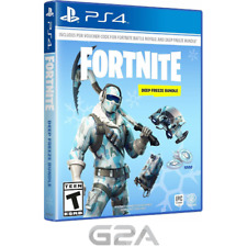 Fortnite Deep Freeze Bundle PS4 Game - Playstation Network Download Code PSN US
