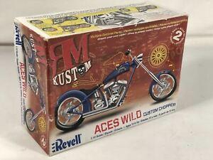 ACES WILD Custom Chopper RM Kustom Bike Revell 1:12 Motorcycle Model 85-7315