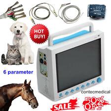 12.1 pollici Veterinario Paziente Monitor Pet VET Machine Vital Signs ICU 6 Para