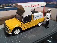 Rare 1/43 Citroen Mehari Glaces Ice Cream Market Van Atlas Diorama