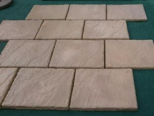 """paving tiles 450mm x 600mm decorative Paving flags, Stepping stones/path 18""""x24"""""""