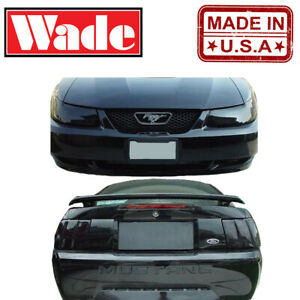 Headlight and Tail Light Covers for Ford Mustang 99-04
