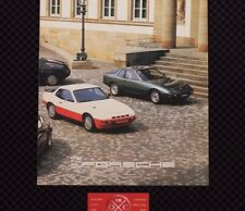 Vintage Porsche 911SC 924 Turbo 928 Japanese Brochure Rare Catalog 1978 79 80 81