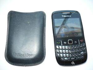 BlackBerry Curve 8520 - Black (O2) Smartphone
