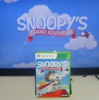 Peanuts Movie: Snoopy's Grand Adventure Xbox 360 Tested SAME DAY SHIPPING
