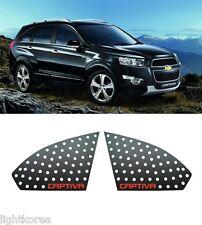 C Pillar Sport Plate Black&Red Garnish 2P (Fit : Chevrolet Captiva 2011-2014)