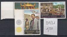 Ascension Island 1977 25 anniversario ascesa al trono di Elisabetta II MNH