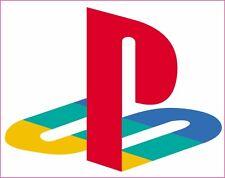 playstation 2x logo sticker ps1, ps2,ps3,ps4 sony
