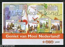2 Blokjes Mooi Nederland 2010 2619 in envelop