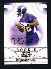 Darius Reynaud 2008 Donruss Playoff Threads signed autograph auto Trading Card