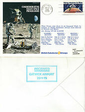 17 JANUARY 1979 MISSION TO MARS FLOWN COVER HOUSTON CANCEL