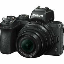 Nikon Z50 (16-50mm VR) Mirrorless Camera+ 2 Batteries+ Smallrig Vlog Plate NEW!