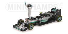Mercedes W07 Hybrid Nico Rosberg With Figurine World Champion F1 2016 1:43 Model
