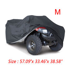 M 190T Waterproof ATV Cover Universal Fit Polaris Honda Yamaha Can-Am Suzuki USA