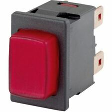 MARQUARDT 1683.8101 16a 250v AC IP65 Botón Pulsar SPST ON-OFF NEGRO FASTON