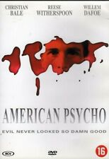 American Psycho, Christian Bale, Reese Witherspoon, Willem Dafoe (Region 2 Dvd)