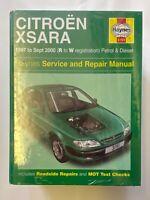 Haynes 3751 Manual for Citroen Xsara 1997-2000