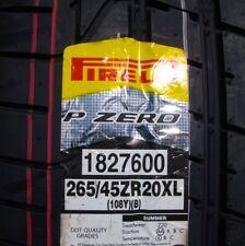 New Pirelli PZERO P Zero 265/45R20 Tire 265/45R-20 265/45ZR20 Bentley Mulsanne B