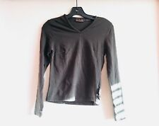 KOREAN STYLED SHIRT Women's Timberland Long Sleeve T Shirt Size S Olive Green