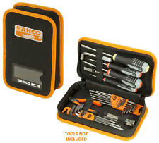 BAHCO 4750FB5A Small Hand Tool Organiser Screwdrivers Storage Case Zipped Pouch