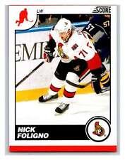 (HCW) 2010-11 Score Glossy #343 Nick Foligno Senators Mint