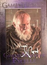 Game of Thrones JULIAN GLOVER SIGNED Card