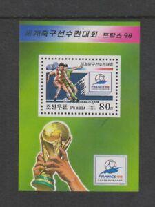 Corée - 1998, Coupe Du Monde de Football Feuille - MNH - Sg MSN3740