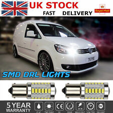 FOR VW CADDY DRL CREE LED XENON BRIGHT WHITE DAYTIME RUNNING LIGHT BULBS UPGRADE