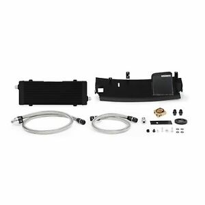 Mishimoto Thermostatic Oil Cooler Kit Fits Ford Focus RS 2016-2018 Stealth Black