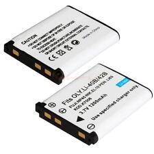 Li-40B/42B 1200mAh Battery for Olympus CoolPix S210 S220 S600 S510 / 2PCS CA