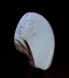 David Fisher (Attrib) Austin Production Art Deco Ceramic Sculpture-Stargazer