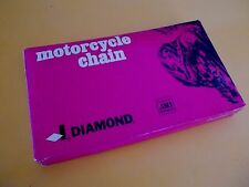 530 Chain 5/8 x 3/8 x 112 links Triumph Norton Harley Diamond USA.Non O Ring