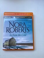 Nora Roberts In From The Cold MP3 CD Audiobook Unabridged 3.3 Hrs.