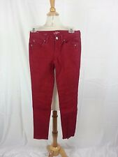 Ann Taylor LOFT Modern Skinny Jeans Pants Red Size 0 P India NWOT