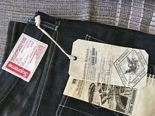SUPREME x NEIGHBORHOOD DENIM BLACK JEANS SIZE MEDIUM SAVAGE LEVEL 4