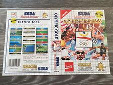Sega Master System : Olympic Gold - Box Cover Art