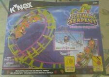 K'Nex 63153 Screamin' Serpent Roller Coaster