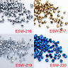 100Pcs DIY Fashion Jewelry Acrylic Crystal 4mm Bicone Beads #5301 Jewelry Make