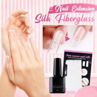 5/10/20x Nail Care Fiberglass Silk Nails Wrap for Gel Extension Nail Art Tool #T
