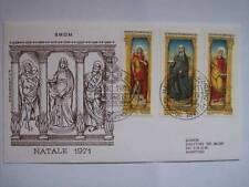 BUSTA PRIMO GIORNO FDC SMOM NATALE 1971 - 1 DICEMBRE 1971 (M14-3-23)