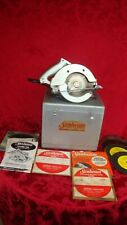 Vintage Sunbeam Chicago IL Electric Hand Saw # 72 Excellent See Pics
