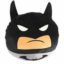 "Batman Grey Travel Cloud Pillow Ultra-Stretch Soft Plush 11"" Round New"