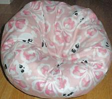 New larger skull & flower handmade  bean bag chair fits American Girl size dolls