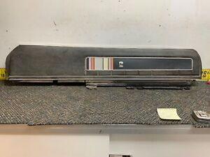 1971-1974 AMC Javelin AMX Black Upper Pierre Cardin Door Panel Right RH (bin11)